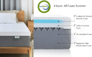 Novilla 10 inch Gel Mattress