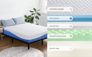 Olee Sleep 10 Inch Gel Mattress