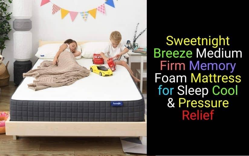 Sweetnight Breeze 8 Inch Mattress