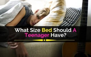 What Size Bed Should A Teenager Have